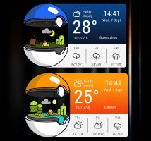 Pokemon GO Widget HD for xwidget by Jimking