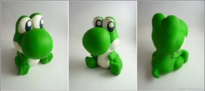 Baby Yoshi (Mario) by Elaiss-in-iceland