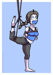 Wii Fit Trainer (Smash Bros.) by Waltodile