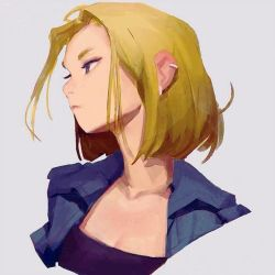 Android 18 by samuelyounart