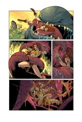 He-Man Vore: Eaten By An Ugly Giant Fish! Page 2 by zetaxinn