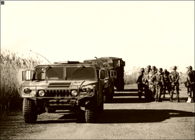 Convoy Briefing by MauserGirl