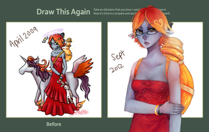 Draw this Again: Gaia Avy by Sangcoon
