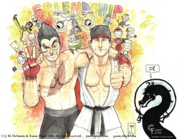 SF X Tekken Friendship by jmdesantis