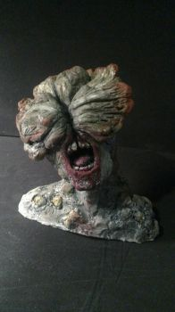 Clicker sculpture (The Last Of Us) by HIPPOPOTOMONSTROSES1