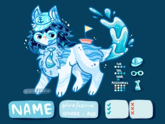 nautical adoptable [ open! ] by xrosecookie