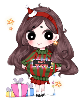 [Gravity Falls] Mabel Pines Christmas by Lefpa
