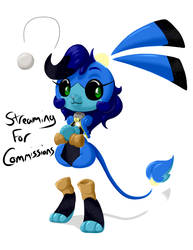 Streaming for Commissions by Inkwell-Pony