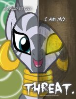MLP - Two Sides of Zecora by TehJadeh