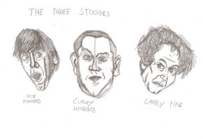 The Three Stooges by matiriani28