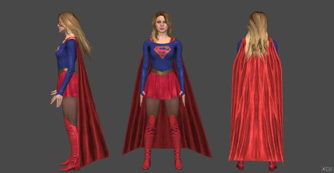 Supergirl CW IJ2 by SSingh511