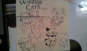 sss warrior cats stiky note by windy-weather