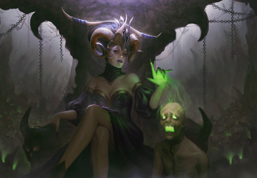 Evil Witch by InaWong