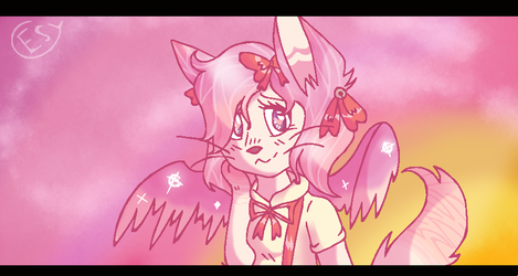 Winged Cat DTA Entry by Esytha