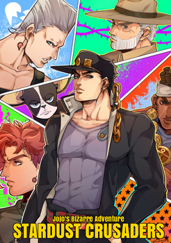 - Stardust Crusaders - by DoritoMeatbag