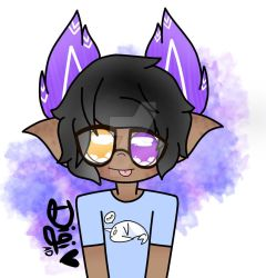 Ren in a relatable shirt by DigiDoodles