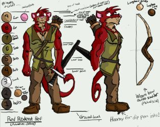 Red Rodent Ref by RedRodent