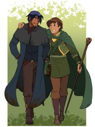 Scorpius and Taran by iesnoth