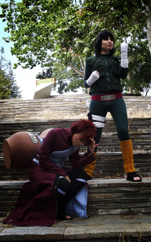 Gaara and Lee 6 - Fanime2015 by eyliuhs