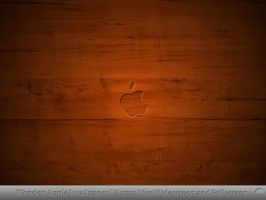 Wooden Apple wallpaper by MDGraphs