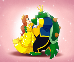 The Princess and the Beast by FantasyFlixArt