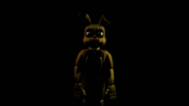 Springbonnie  |  FNAF/BLENDER by NightmareNexus