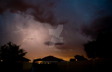 lightning in Gaborone by 8ties-baby