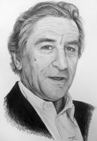 Robert De Niro - Graphite by EdilsonR74
