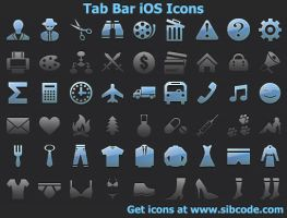 iOS Icons by shockvideo