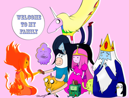 :Welcome to my family: by Mac-kys