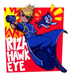 hawks eye by sorrysap