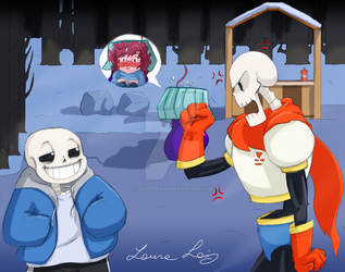 Undertale: the Sentry station by Lauretta-89