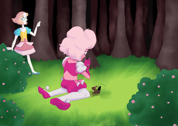 Pearl and pink by Ovline