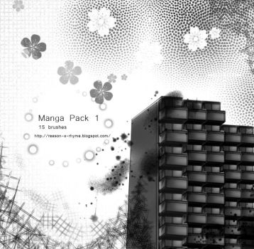 Manga Pack 1 by Nyanfood