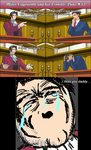 Miles Edgeworth and His Terrible Puns #12[SPOILER] by DarkMatter89