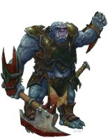 Dungeons and Dragons: IceShield Orc by LeeSmith