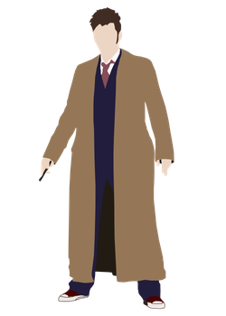 Simple Tenth Doctor Vector by wherestherain