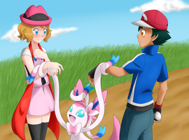 [Amourshipping] Let's do our best by DragonFG28