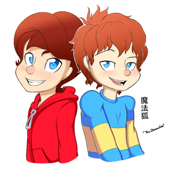 Henry and Ralph by TheDemonFox666