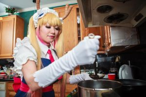 Tohru Cooks Soup, Dragon Maid Cosplay by firecloak
