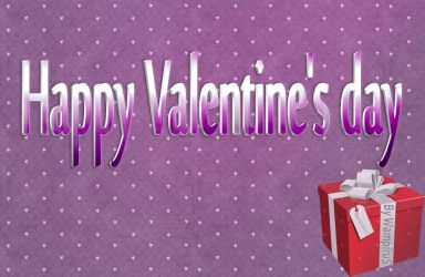3D Valentine's day Text Effect .PSD by WampiruS