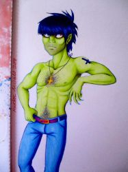 Murdoc by BlueHorizon89
