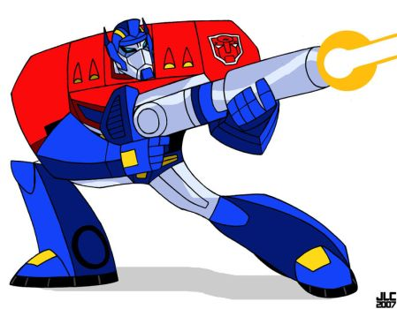 TF Animated Optimus by Jochimus