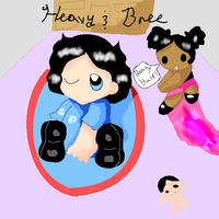 heavy and bree by Lillmissthang