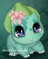 bulbasaur by Goldphishy