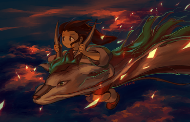 spirited away by tellielz