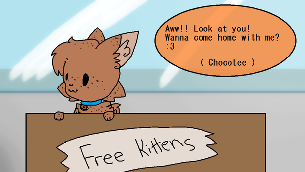 Chocolate Chip Kitten Custom Trade by Pond-Rivers