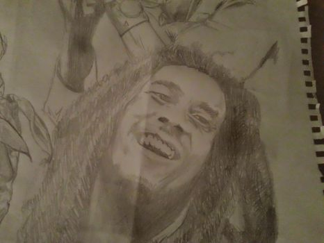 Bob Marley Sketch by UpstateINK