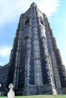 Lavenham church tower by Lpixel