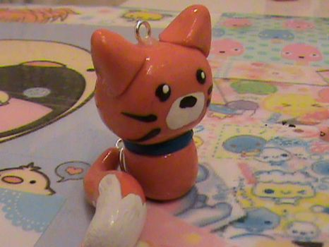 Cute Polymer Clay Cat by Pastel-x-Stars